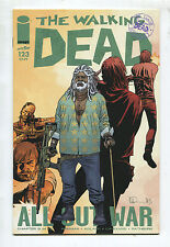 """The Walking Dead #123 - """"All Out War Chapter 9 of 12"""" - (Grade 9.2)"""