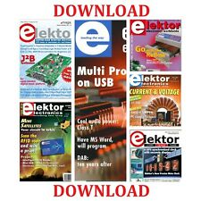 ELEKTOR ELECTRONICS MAGAZINES 2004-2017 ON DOWNLOAD