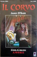 IL CORVO NUMERO ZERO JAMES O'BARR THE CROW AMORE GENERAL PRESS SUPPLEMENTO N.1