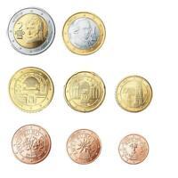 Austria 2011 Série Complète 8 Valeurs avec Austria 2011 8 Monnaies Fior De