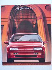 Prospekt 1996 Chevrolet Beretta, 7.1995, 14 Seiten