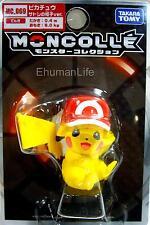 Takara Pokemon XY Moncolle MC069 Pikachu Monster Satoshi's Cap Ver. 4.5cm Figure
