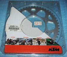 couronne alu 50 dents KTM 125 200 250 300 400 450 530 EXC EXC-F SX-F SX SXS-F