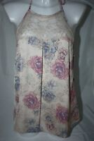 Rosie for Autograph M&S Marks floral lace halterneck loungewear top BNWT UK 14