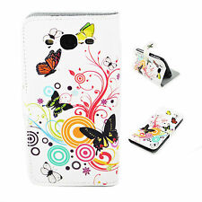 Leather Flip Card Pouch Wallet Cover Case Skin For Samsung Galaxy S3 S III i9300