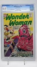 Wonder Woman #145 CGC 8.0 OW/W Pgs DC 1964 Full Page Ad Hawkman #1! Ross Andru