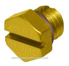 PPE AIR BLEEDER SCREW 2001-16 CHEVY GMC 6.6L DURAMAX - GOLD