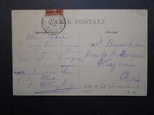 France 1914 Army Assembly Station No 22 Cancel on Postcard  - Z7115
