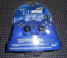 Manette Ps2 Bleu Madrics Tri-Mode  Avec Mode Volant Compatible PS one