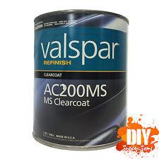 2K Clear Top Coat Gloss Automotive Paint Urethane Valspar AC200MS Car Auto 946ml