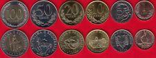 Albania set of 6 coins: 1 - 100 leke 2000-2018 UNC