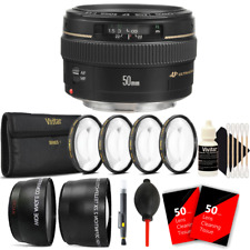 Canon EF 50mm f/1.4 USM Lens + Accessory Kit for Canon 600D 550D 500D