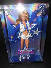 BARBIE DALLAS COWBOYS CHEERLEADERS BLONDE DOLL ( 2007) PINK LABEL COLLECTOR DOLL