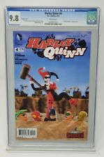 DC Comics - Harley Quinn #4 - CGC 9.8 - Robot Chicken variant cover - White