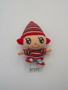 "Animal Crossing B1203 Villager Girl Sanei 2001 Plush 4.5"" Toy Doll Japan"