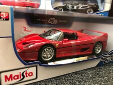 *** SALE *** Maisto 1:18 Scale Diecast Model Car - Ferrari F50 Close Top (Red)