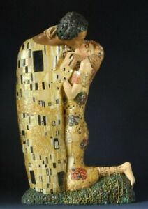 Der Kuss -M- GUSTAV KLIMT Skulptur Parastone Museumsedition KL21 Figur
