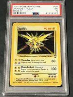 2000 Pokemon Zapdos Holo #20 PSA 5