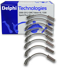 Delphi Spark Plug Wire Set for 2000-2012 GMC Yukon XL 1500 - Ignition Coil mj