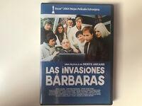LAS INVASIONES BARBARAS DVD DENYS ARCAND OSCAR 2003 CANADA V.O. FRANCES