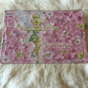 TINKERBELL PUZZLE Fairy Puzzle Daisy Puzzle Flower Puzzle FRAME TRAY Jigsaw