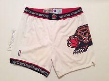 "VINTAGE 1994 Champion NBA Vancouver Grizzlies Rare Pro Cut GaMe Shorts 46+ 2""+2"""