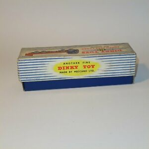 Dinky Toys 903 Foden Flat Truck with Tailboard Original EMPTY BOX