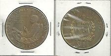1969 Samoa Robert Louis Stevenson Tusitala $1 Medal