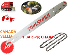 "TOOLSTORM Pro Chainsaw Bar and Chain (10X) 24"" 3/8 .063 84DL Stihl MS660 MS390"