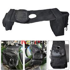 ATV Fuel Tank Bag Saddlebag w/ Phone Pouch Cup Holder for Dirt Pit Quad Bike