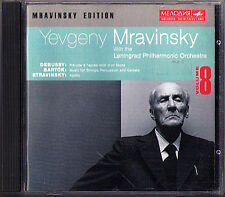 Mravinsky: Stravinsky Apollin MUSAGETE DEBUSSY PRELUDE Bartók Percussion CELESTA