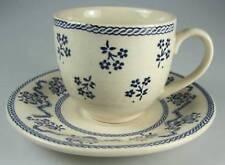 Johnson Brothers Petite Fleur Blue(SET OF 3) Demitasse Cup & Saucer Sets