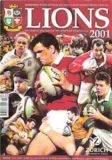 Leones 2001 Revista Oficial De Los Leones Tour a Australia 2001