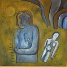 05- HILDA VIDAL Óleo sobre lienzo-Oil on canvas-Öl auf Leinwand-Huile sur toile