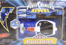Power Rangers Lightspeed Rescue Blue Rescue Speeder With Figure By Bandai (MISB)