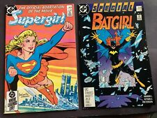DC COMICS BATGIRL SPECIAL 1 1988 & SUPERGIRL MOVIE ADAPTATION 1985 BOTH EXC/NM