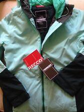 NWT $275 Marker RECCO Crossover Ski Jacket Coat Women's Medium Icy Blue / Green