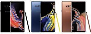 Samsung Note 9 N960U T-Mobile Verizon Straight Talk Unlocked Boost Total AT&T