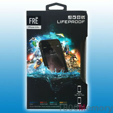 "GENUINE LifeProof Fre Case for Apple iPhone 6 6S 4.7"" Shock Water Proof Black"