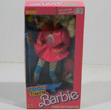 Vintage Barbie Doll Cool Times Barbie Scooter Ice Cream No.3022 Dated 1988