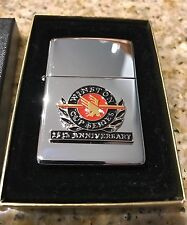 WINSTON CUP SERIES 25th ANNIVERSARY NASCAR CHROME ZIPPO LIGHTER 1995
