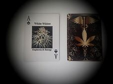 (2) Decks of Medical Cannabis Poker Cards Marijuana Cards Pot Weed Cannabis Art