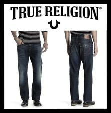 TRUE RELIGION RICKY FLAP ATHLETIC FIT RELAXED STRAIGHT LEG SZ 29 (NEW) MSRP $229
