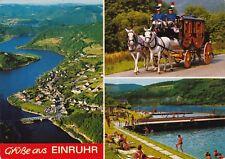 Grüße aus Einruhr , Ansichtskarte 1987 gelaufen