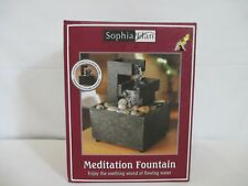 NEW Sophia Elan Table Top Meditation Fountain- Enjoy The Sound Of Flowing Water!