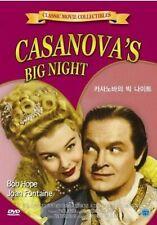 Casanova's Big Night - Joan Fontaine Bob Hope New UK Compatible Region Free DVD