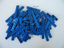 NEW Lego BLUE 1X PLATES / Mixed Lot / 75+