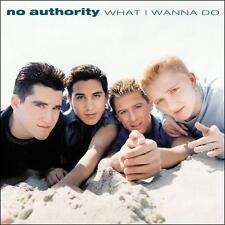NO AUTHORITY - WHAT I WANNA DO rare Single Teen Pop cd 2 songs GIRLFRIEND 1990s