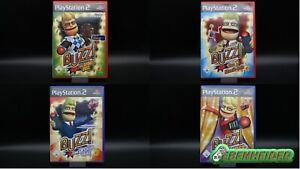 Sony Playstation 2 Buzz Spiele - Mega - Große - Musik - Pop Quiz - OVP - Ps2