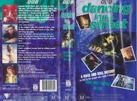 DANCING IN THE STREET  HANG ONTO YOURSELF VHS PAL VIDEOS A RARE FIND